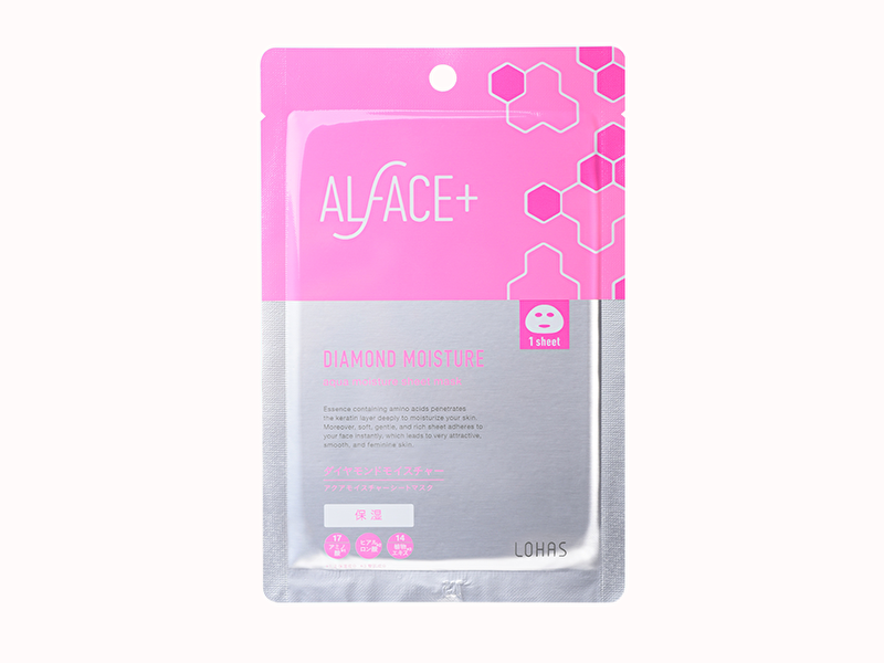 ALFACE+(オルフェス) ダイヤモンドモイスチャー アクアモイスチャー シートマスク
